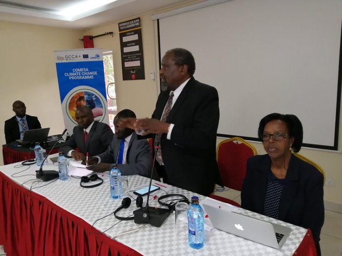 COMESA Climate Change Advisor Dr Maclay Kanyangarara