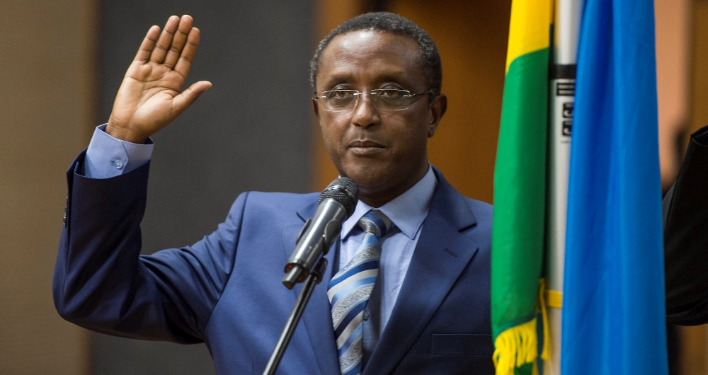 Dr Vincent Biruta was appointed as new Foreign Affairs Minister