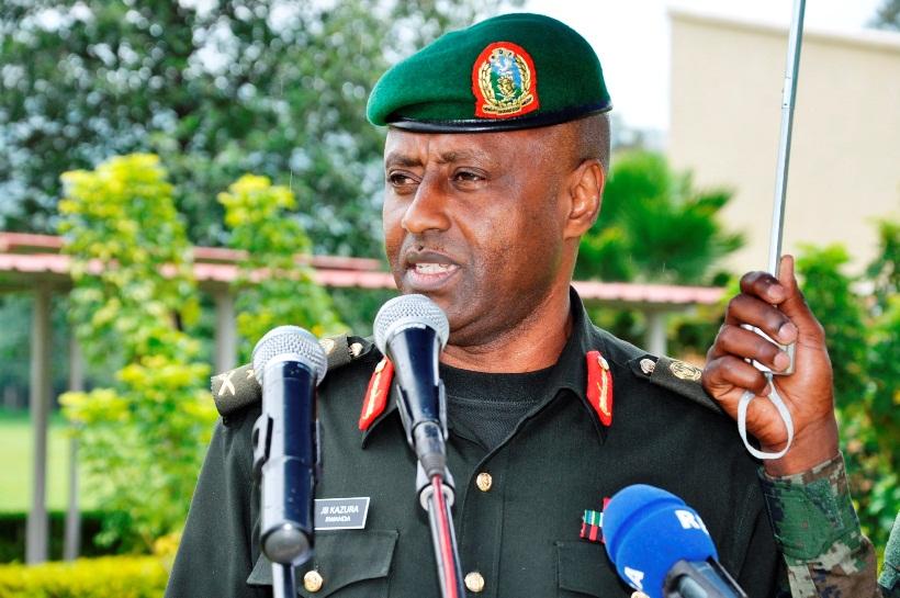 General Jean Bosco Kazura, new chief defense of staff of Rwanda Defense Force