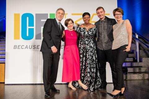 ICFJ Awards Dinner,Photo Ben Bangoura AlloAfrica News