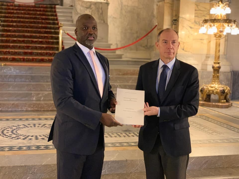 Justice Minister handover the lawsuit