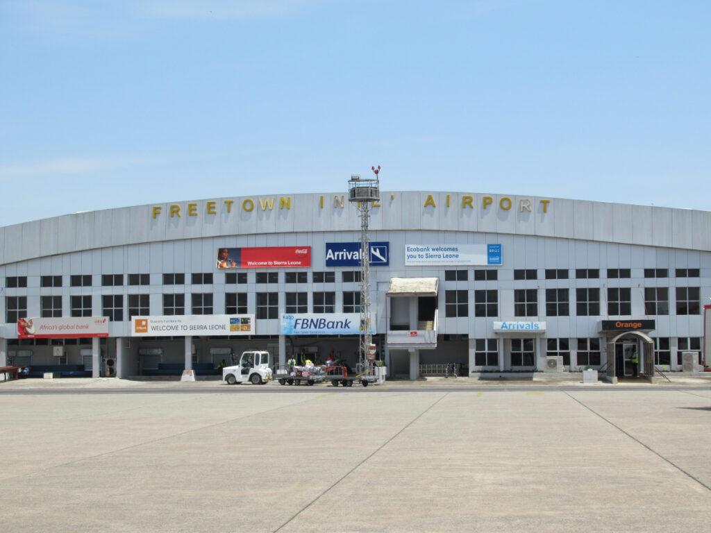 Lungi Airport Terminal