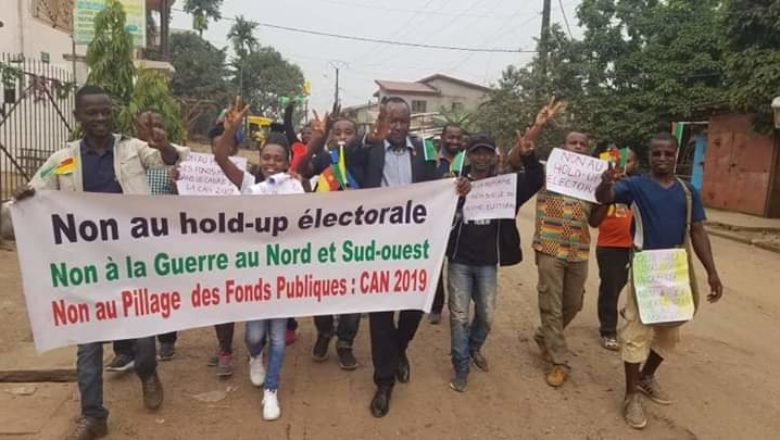 MRC Party militants have vow to continue protesting against the Biya regime