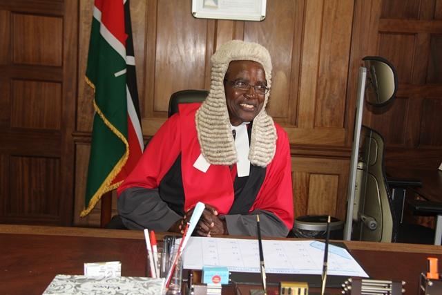 Kenyan Chief Justice David Maraga