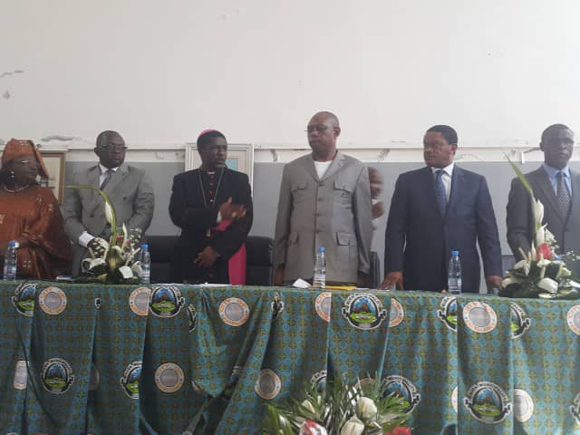 Officials of the Post Dialogue caravan for the SWR