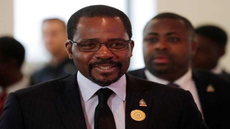 Minister of Mines and Hydrocarbons, Gabriel Mbaga Obiang Lima. Photo credit :SABC News Reuters