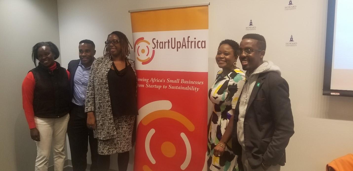 Panelists smile for cameras. Photo Amos Fofung ,PAV
