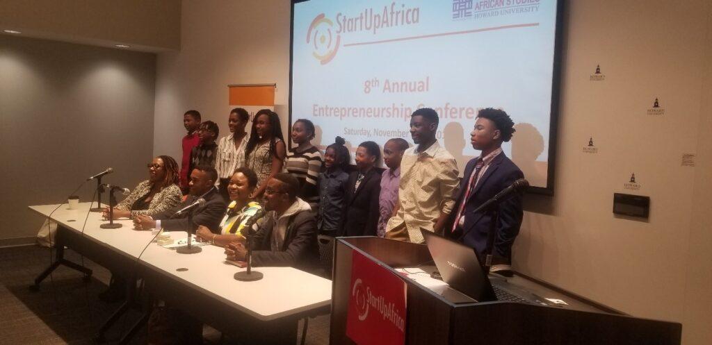 Inspiring a younger generation of entrepreneurs . Photo Amos Fofung ,PAV