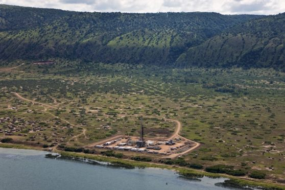 Tullow's Lake Albert development. Photo credit Energy Voice