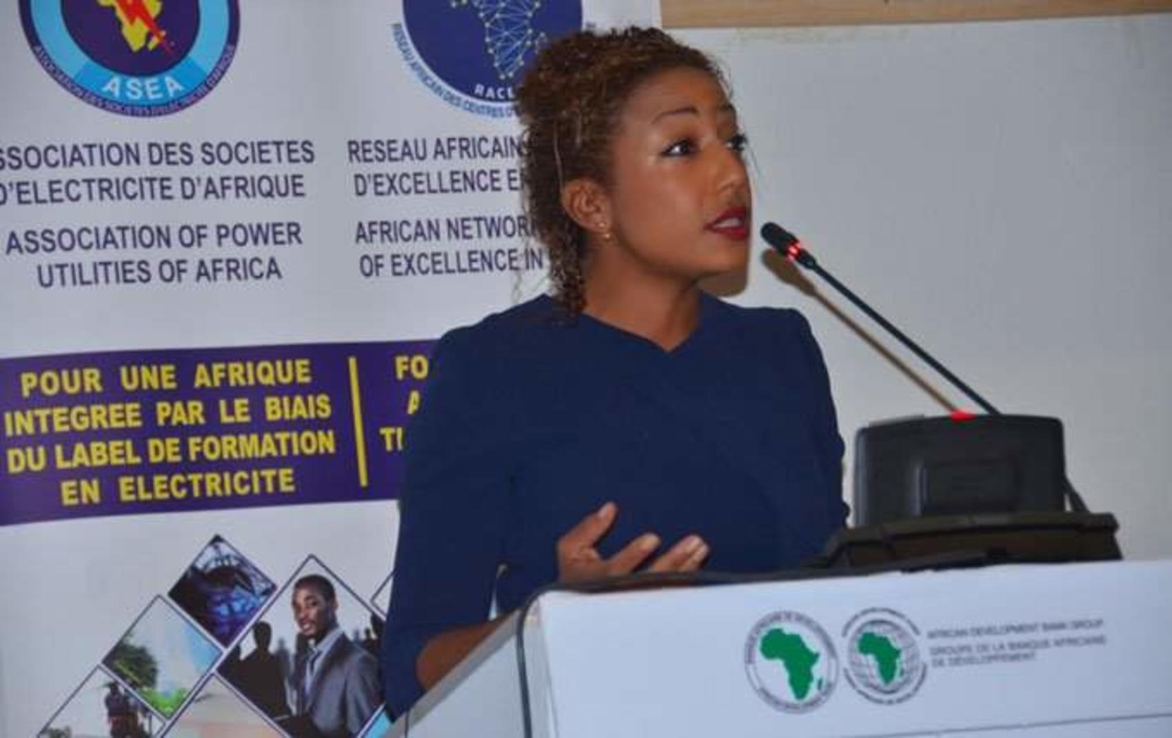 Vanessa Moungar, Director of Gender, Women and Civil Society