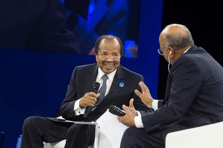Paul Biya responding to Mo Ibrahim