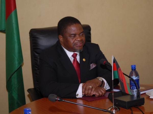 Bright Msaka, Minister for Justice and Constitutional Affairs, Malawi,