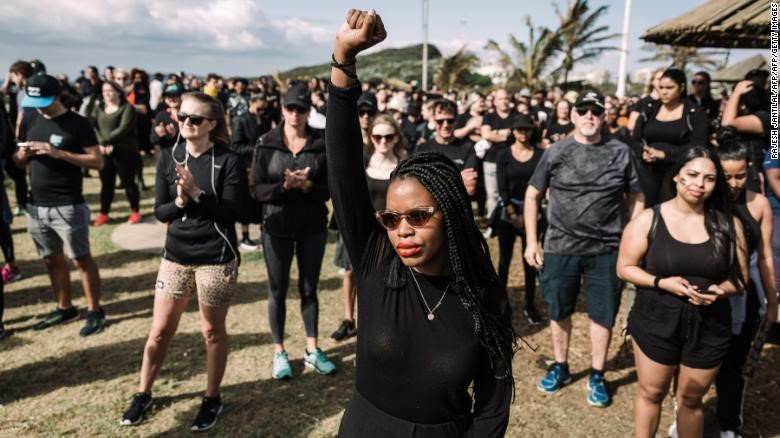 Women in South Africa have petitioned the presidency over their dead penalty request. (photo: CNN)