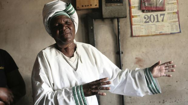 Grandmother Esther Zinyoro Gwena claims to be guided by the holy spirit.Photo credit:Africans Live