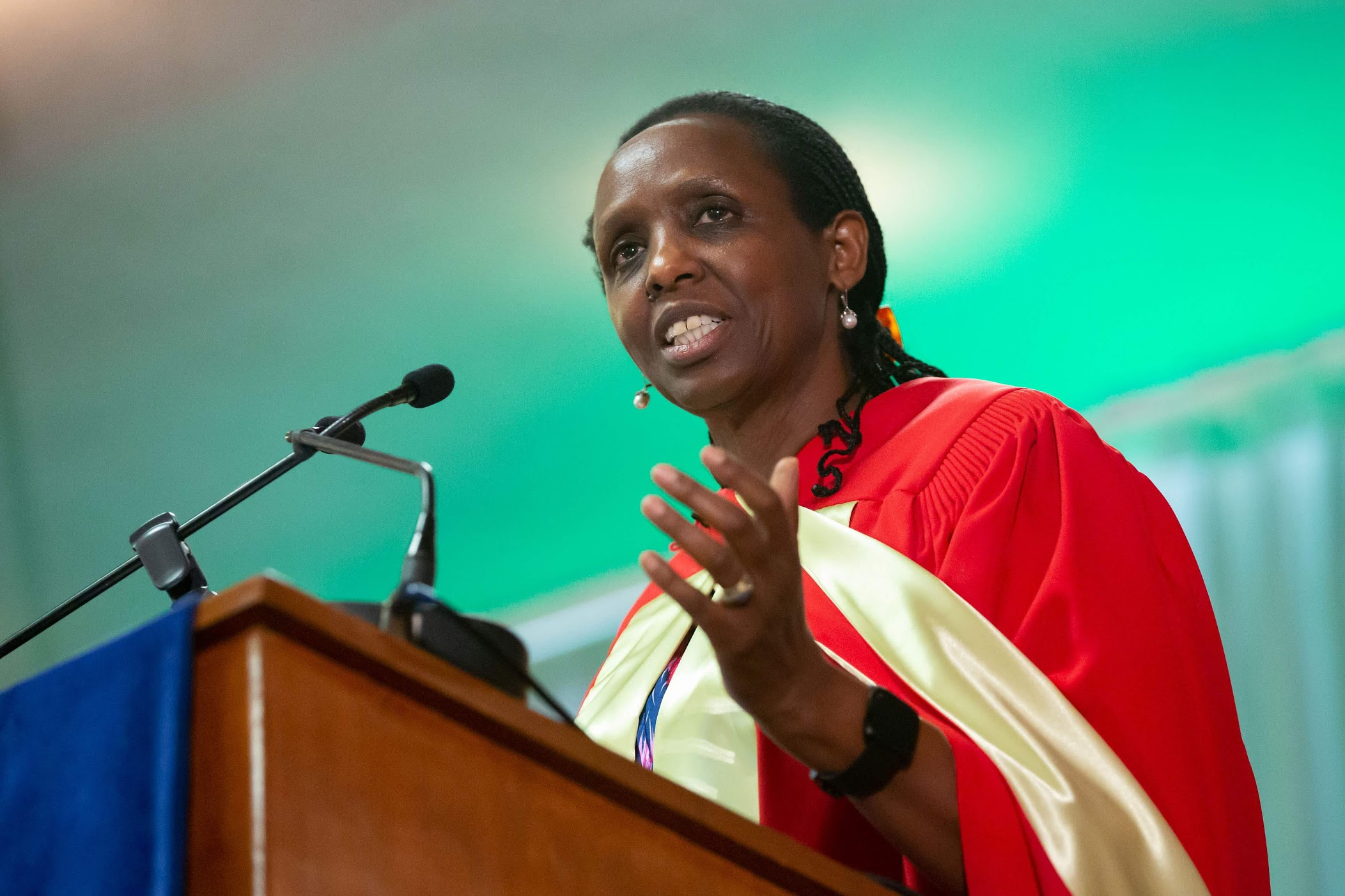 Agnes Kalibata was named UN Secretary General's Special Envoy for 2021 Food Systems Summit