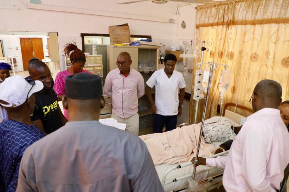 Barrow visits victims at EFSTH