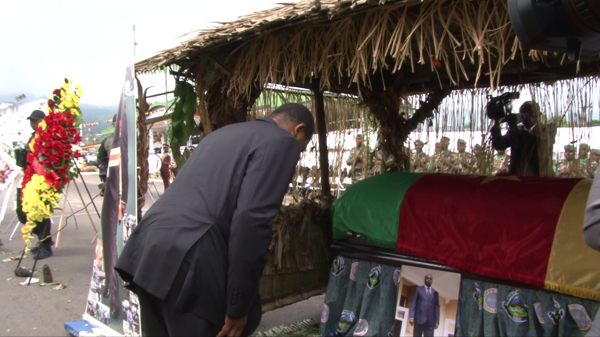 Minister Paul Atanga Nji pays last respect to Late Ekema Patrick Esunge