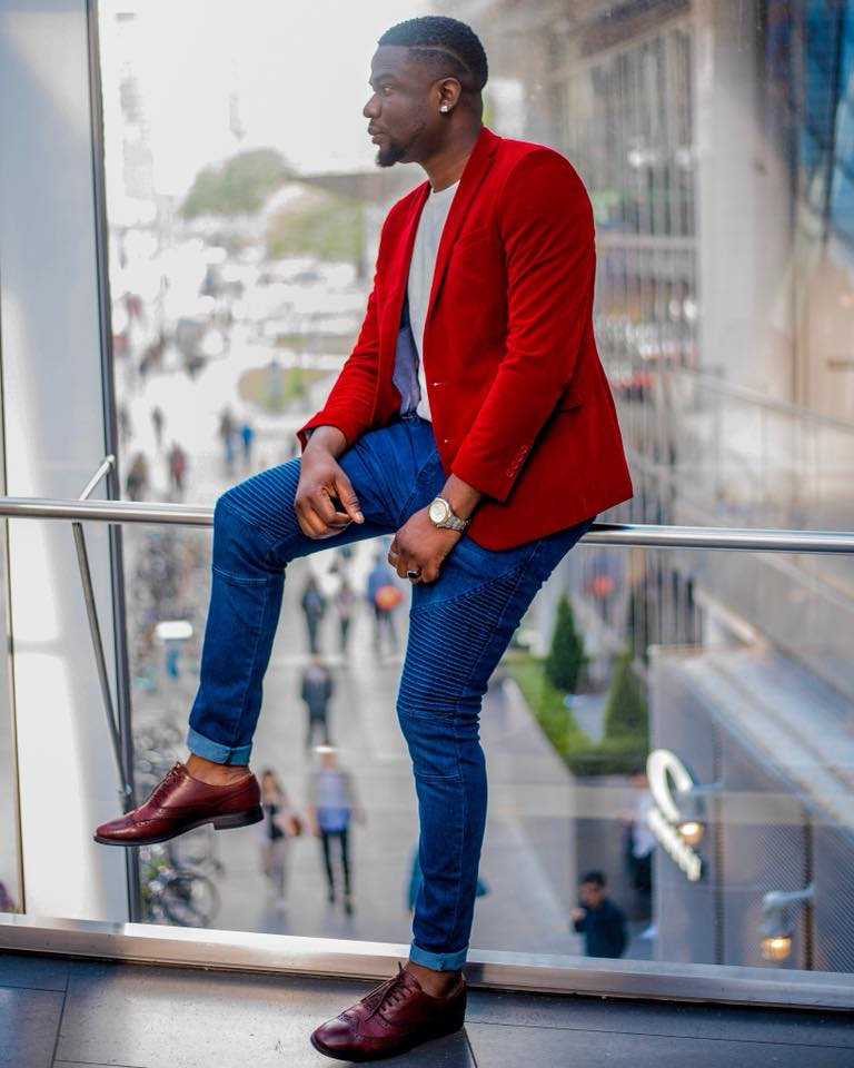 Nonso has taken the fashion world by storm since moving to Canada.