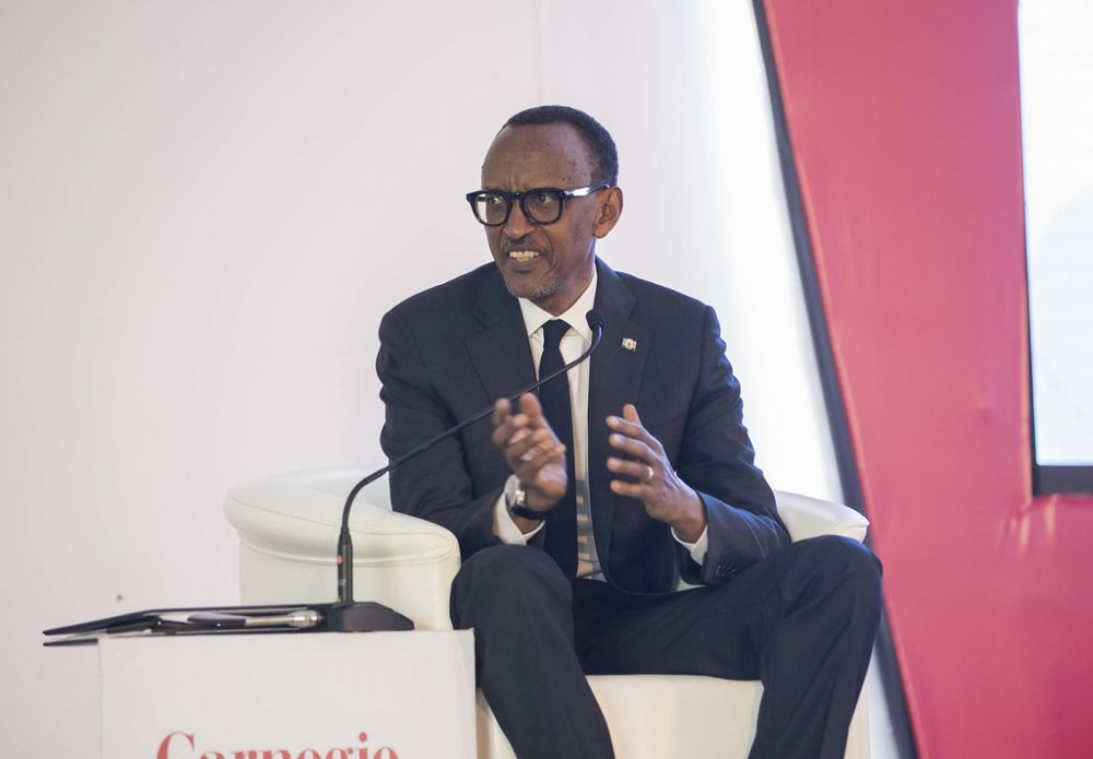 President Kagame said that he is most likely to step down in 2024