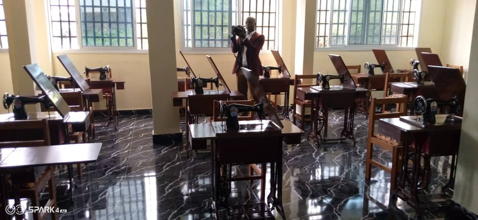 Some 43 tailoring machines have been made available to Internally diaplced persons as the Centre opens in January 2020