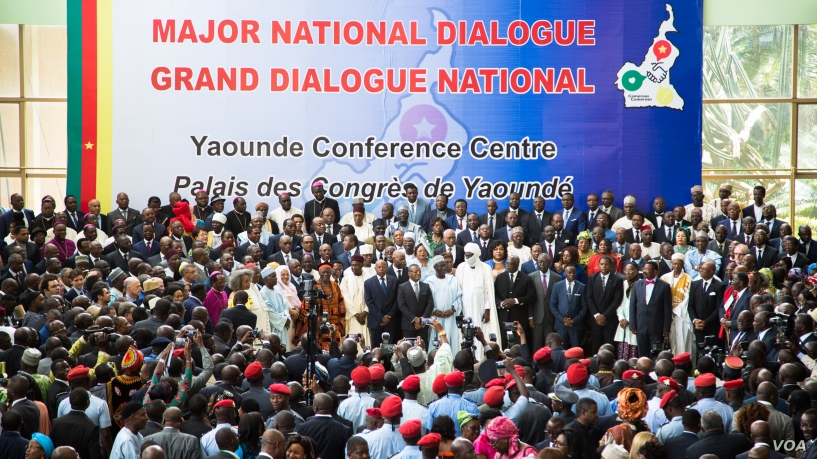 Special status granted to NOSO as a fallout of the Major national Dialogue in Cameroon