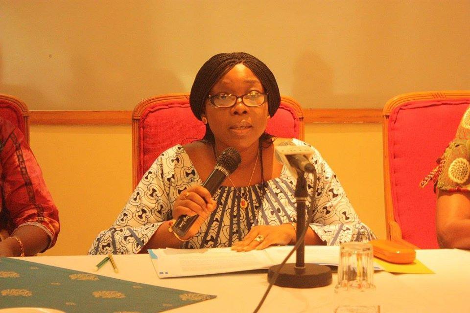 UNICEF Gambia Resident Representative, Sara Beysolow Nyanti