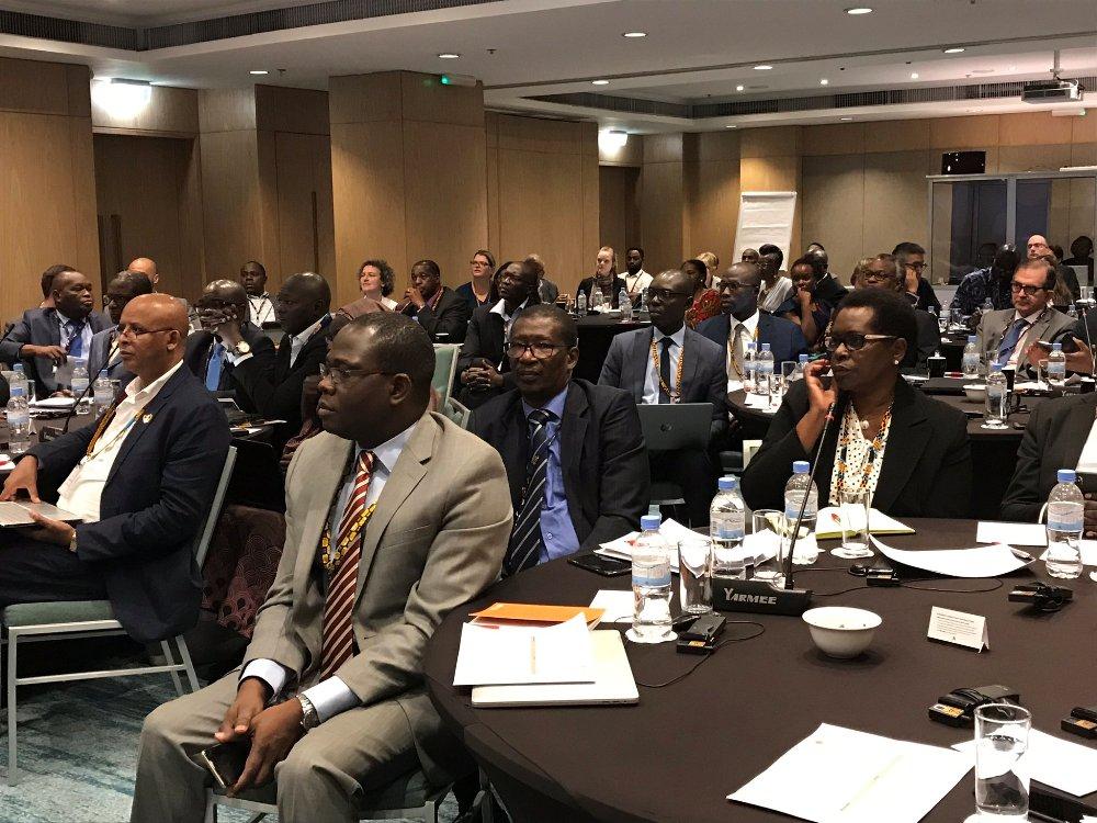 University community deliberate on improving higher education during the Mastercard Foundation's workshop in Kigali last week. Photo courtesy.