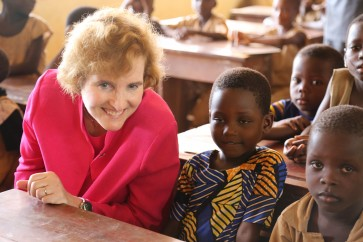 Alice Albright, Chief Executive Officer of the Global Partnership for Education
