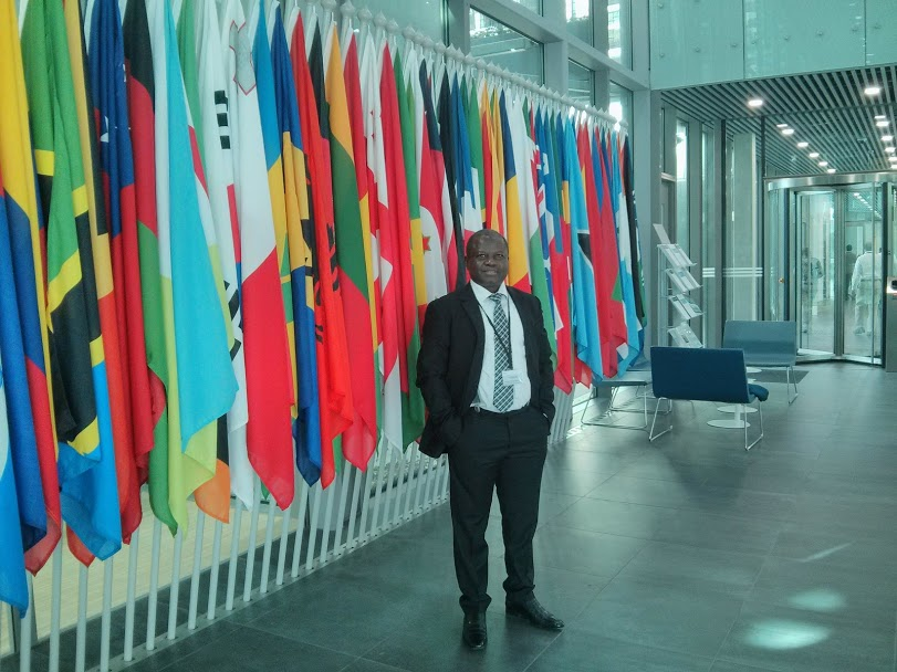 Barrister Ajong at The International Criminal Court, The Hague