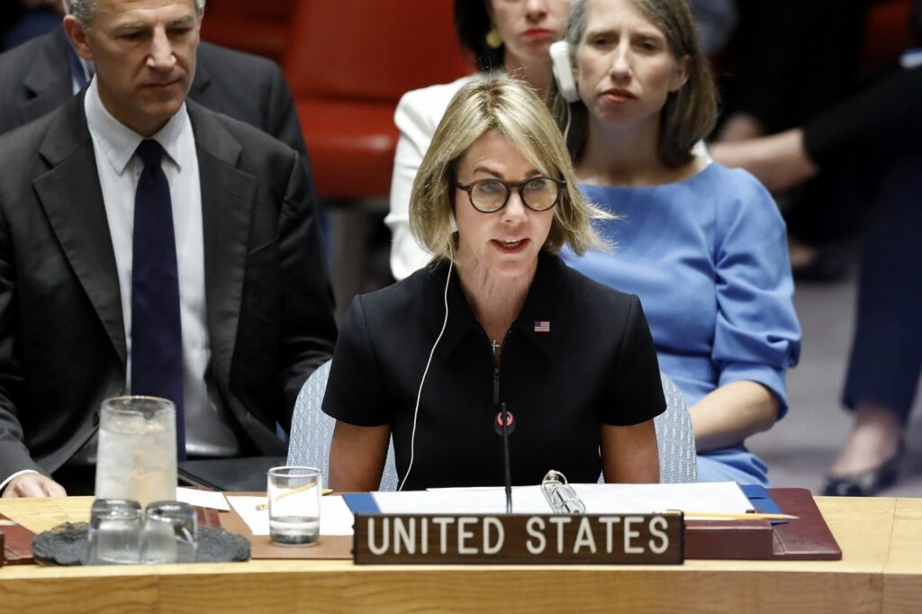 Ambassador Kelly Craft urged to push UN to act on Cameroon worsening conflict (photo: AP Photo/Richard Drew)