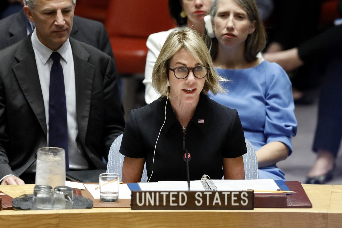 Ambassador Kelly Craft urged to push UN to act on Cameroon worsening conflict (photo: AP Photo/Richard Drew)
