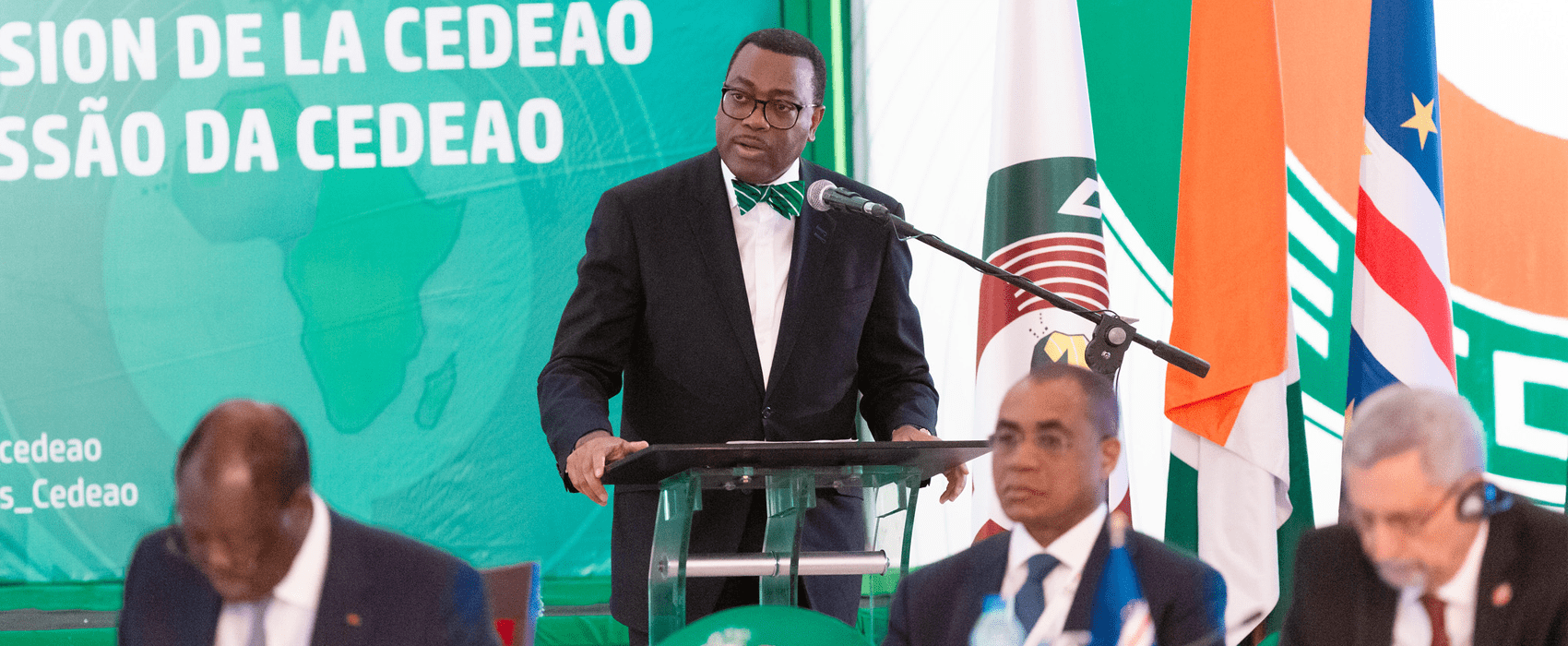 "In recognition of the sterling performance of Dr. Akinwumi Adesina during his first term of office as President of the African Development Bank, the Authority endorses his candidacy for a second term as the President of the bank,"" ECOWAS said in a communique issued after the meeting"