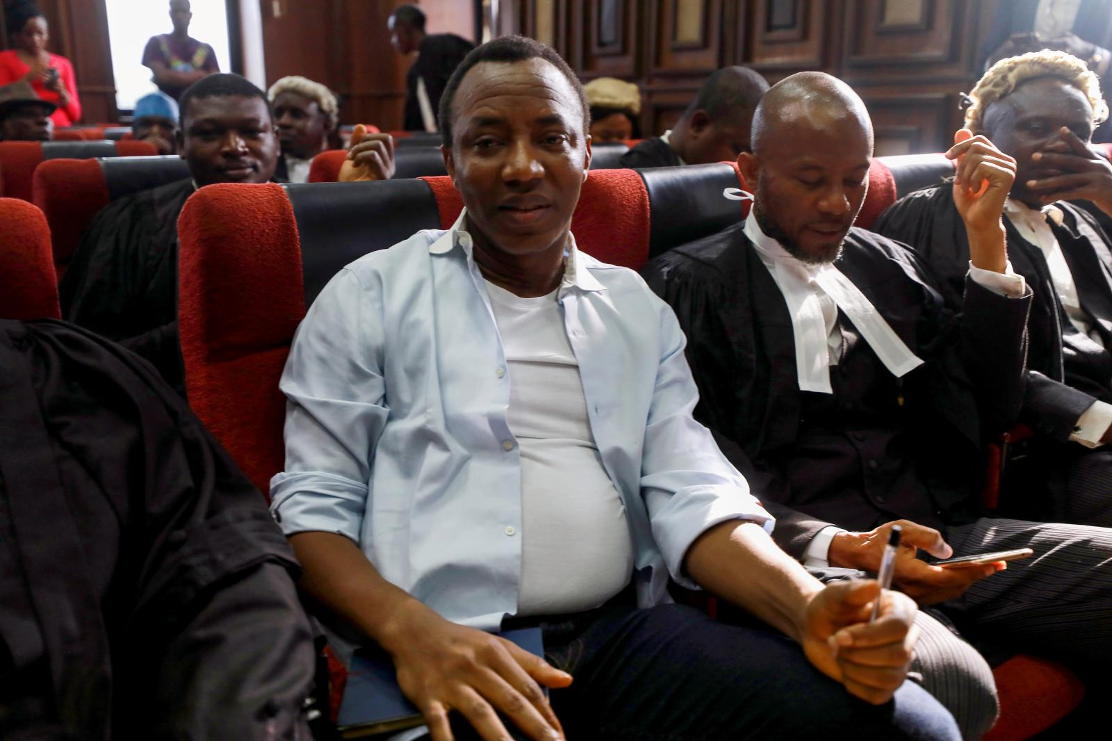 Omoyele Sowore, a New-York based Nigerian journalist and prominent activist remains in detention under controversial circumstances.Photo credit :Quartz