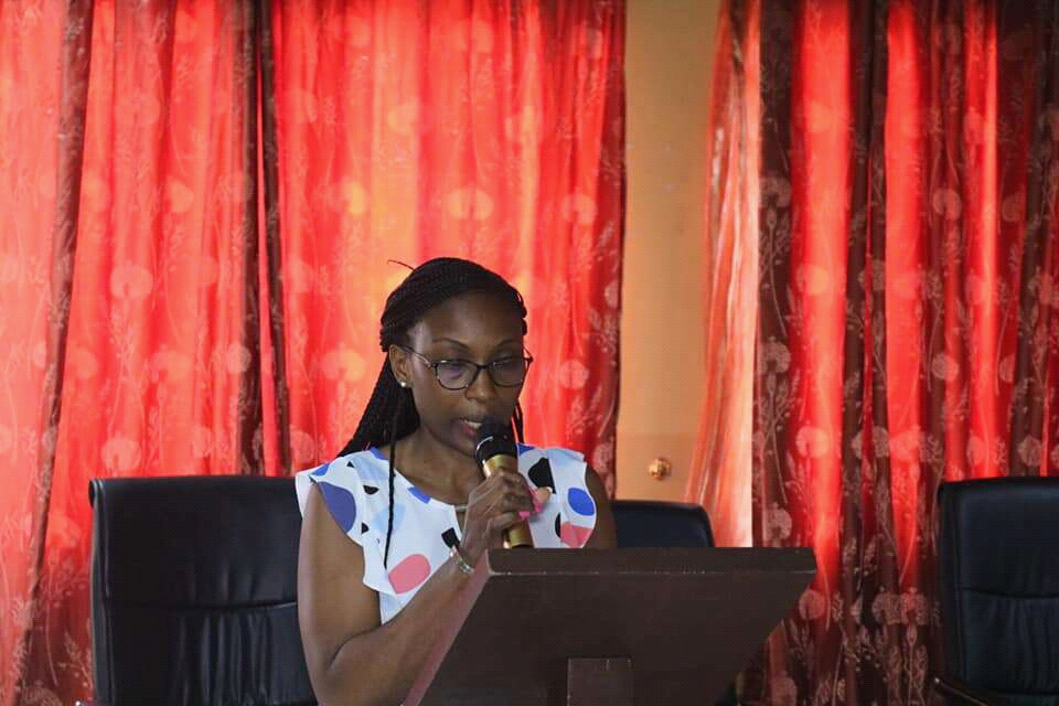 Agathe Djomeghu, Directo of Programmes said the purpose of the Nkafu debate is a platform for non-politicized debates but based on facts, evidence and statistics
