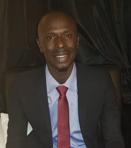 Momodou Cham, alias MC Cham GDC Youth Leader