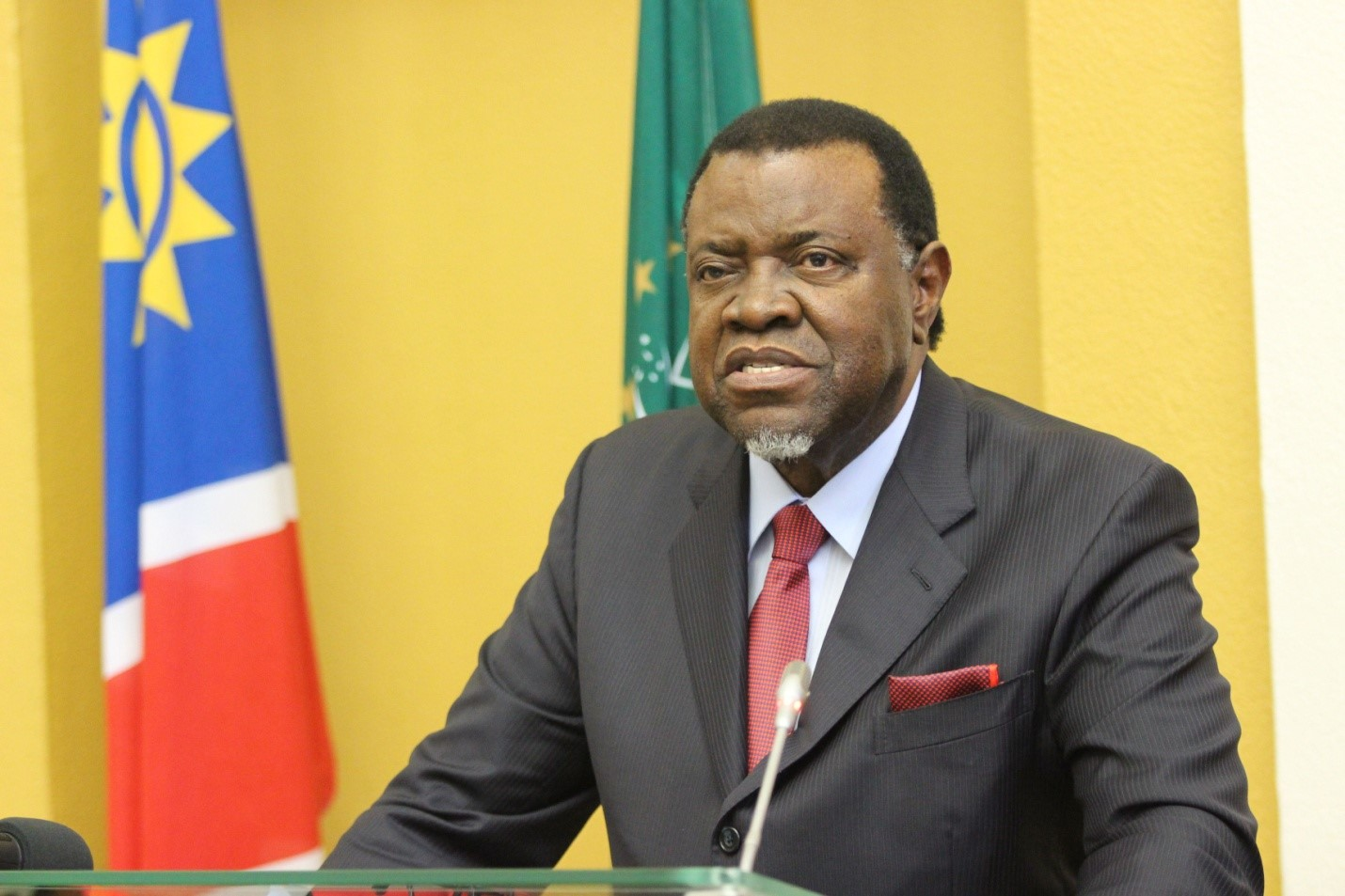 Several figures close to Namibian President Hage Geingob were filmed discussing the laundering of political contributions