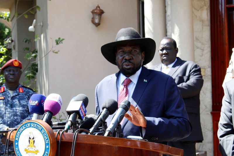 President Kiir got rave reviews for the move