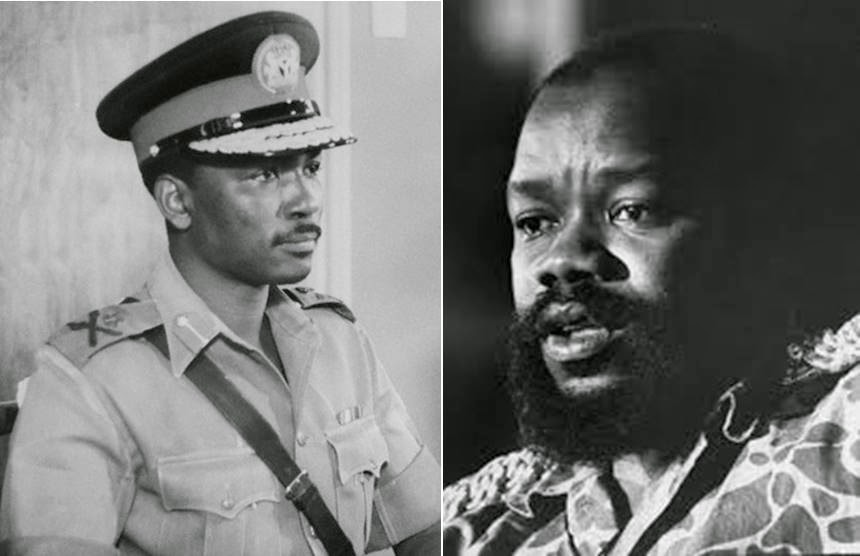 Gowon and Ojukwu were the main protagonists in the war