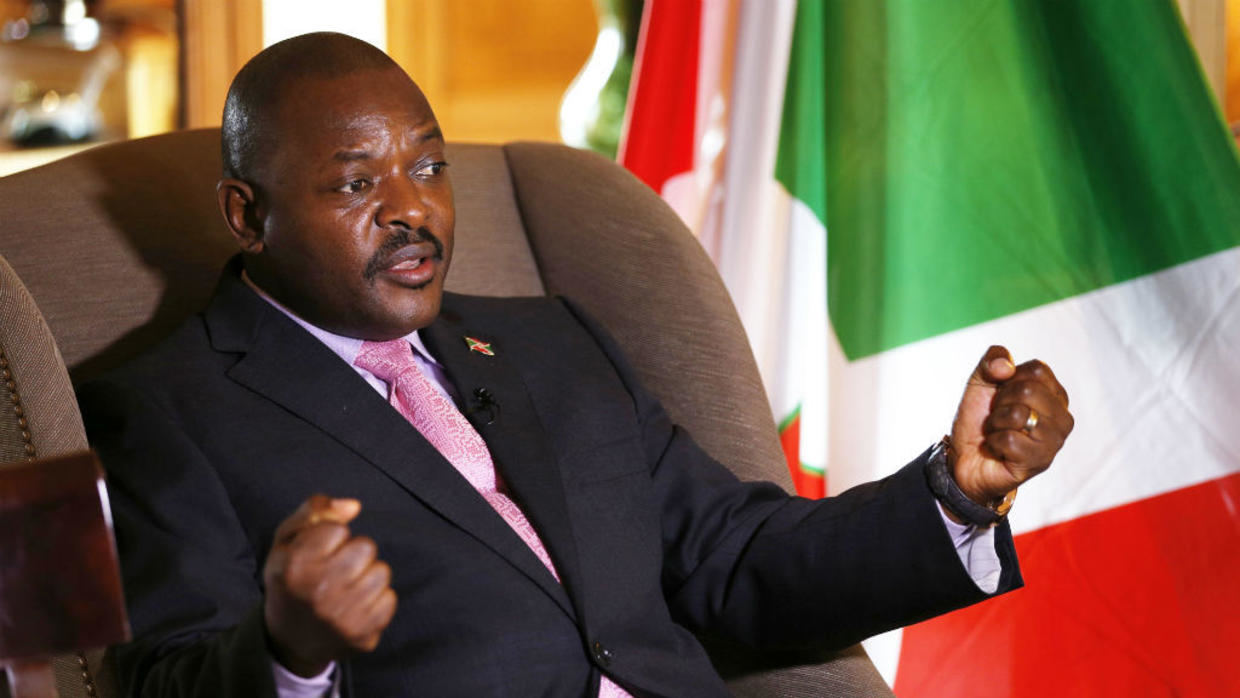 President Nkurunziza has indicated that he will not seek another term