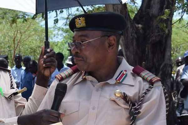 Lamu police boss Irungu Macharia