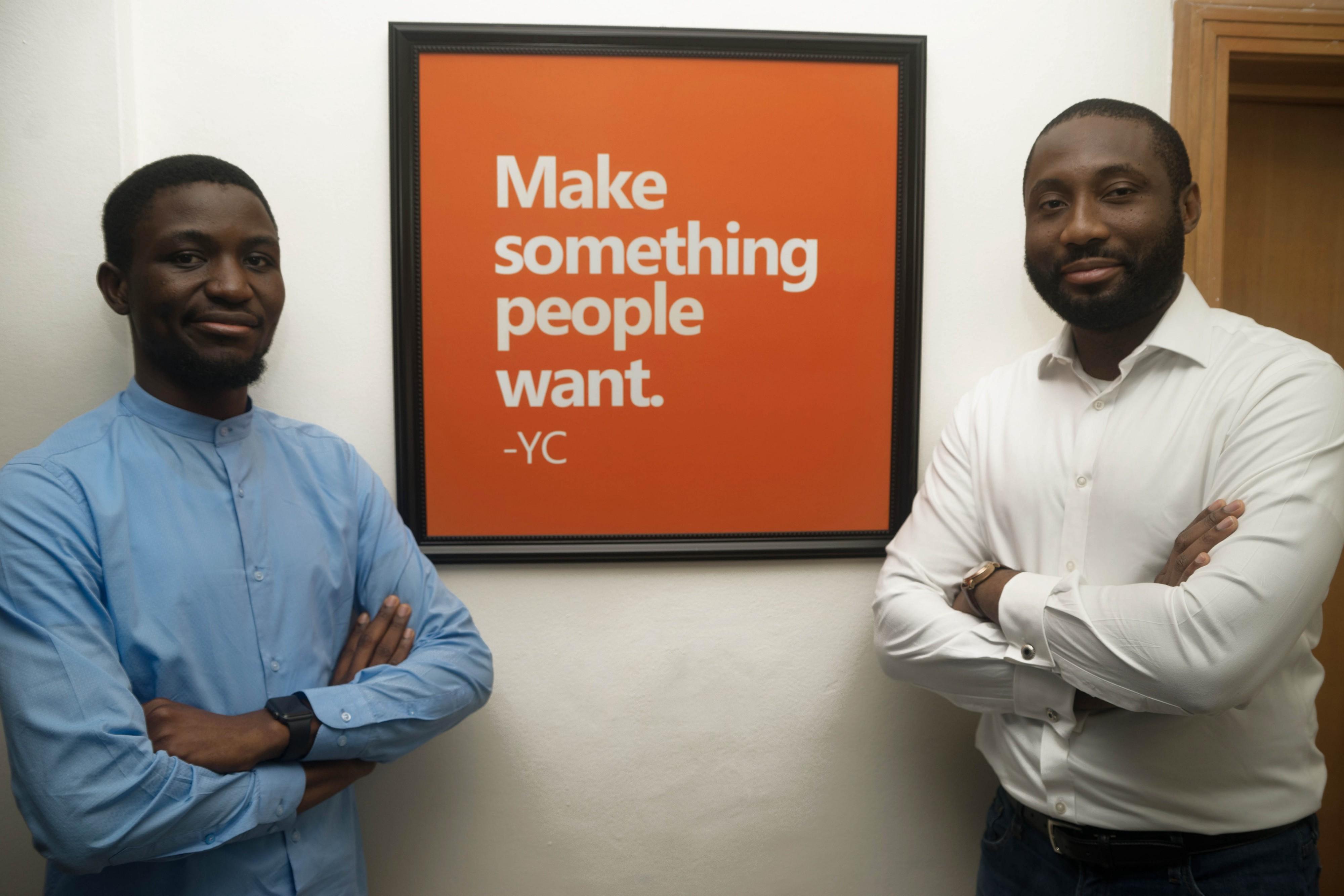 Aella co-founders, Akanbi Wale and Akinola Jones