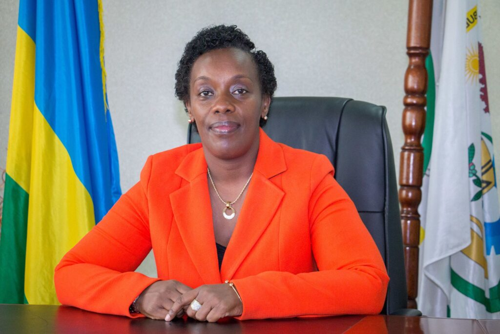Dr Diane Gashumba resigned over lying to President Kagame
