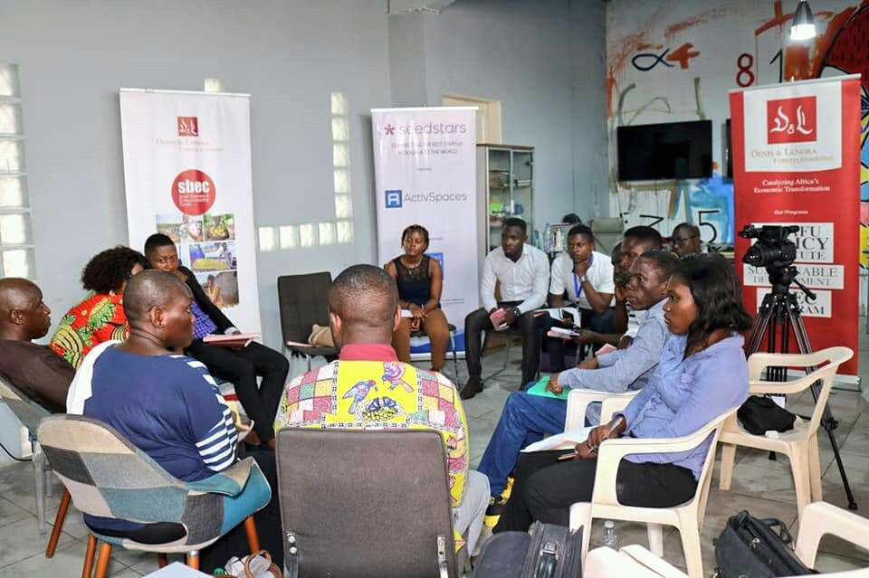 The event focused on examining governmental support to entrepreneurs in Cameroon, access to finance, tax registration requirements and declaration procedures for SMEs in Cameroon
