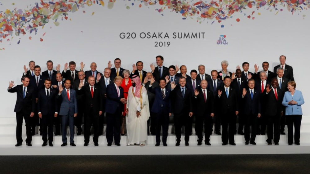 The G20 Summit 2019 in Osaka, Japan .Photo Reuters