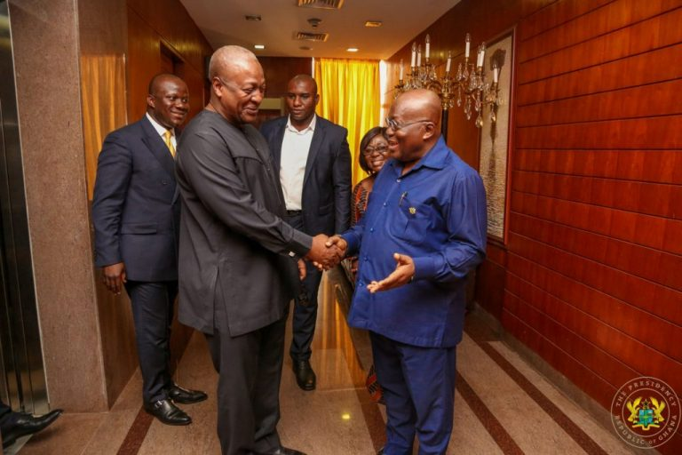 Former President Mahama and President Akufo Addo will be in a fierce Presidential race later this year