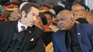 The fight between former President Ian Khama and current President Mokgweetsi Masisi is threatening the image of Botswana as a leading democracy in Africa