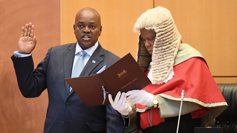 President Masisi is firmly in control and is expected to deliver positive results .Photo AFP