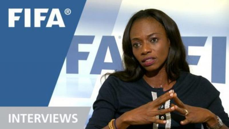 Isha Johansen is the second current female football association President in the world along with Lydia Nsekera of Burundi