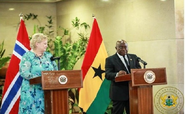 Norwegian Prime Minister Erna Solberg and President Akufo Addo are Co-Chairs of the UN Secretary-General's Eminent Group of Advocates for the SDGs