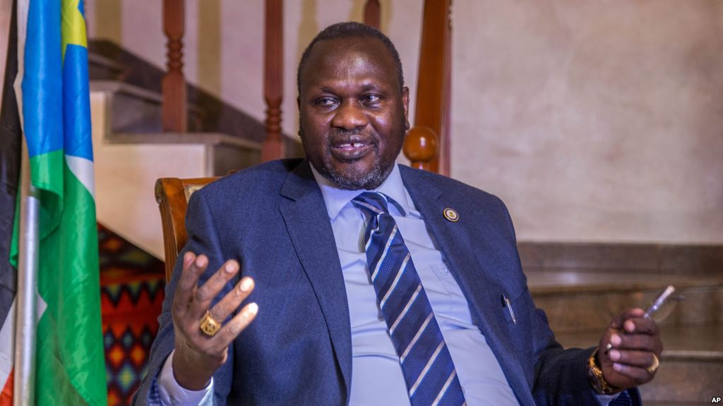 The announcement was made by by First Vice President Dr Machar